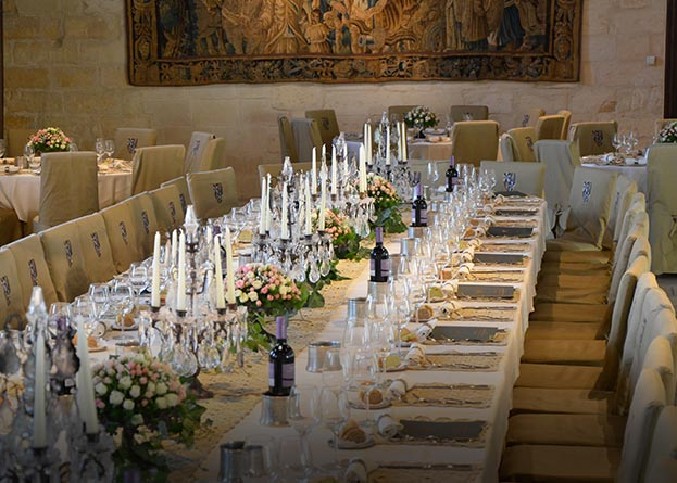 Banqueting a Torre del Parco