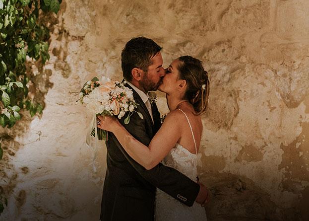 Sposi Anna Paola e Cristiano