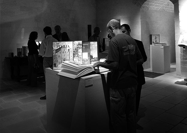 Spazi espositivi mostra Torre Del Parco