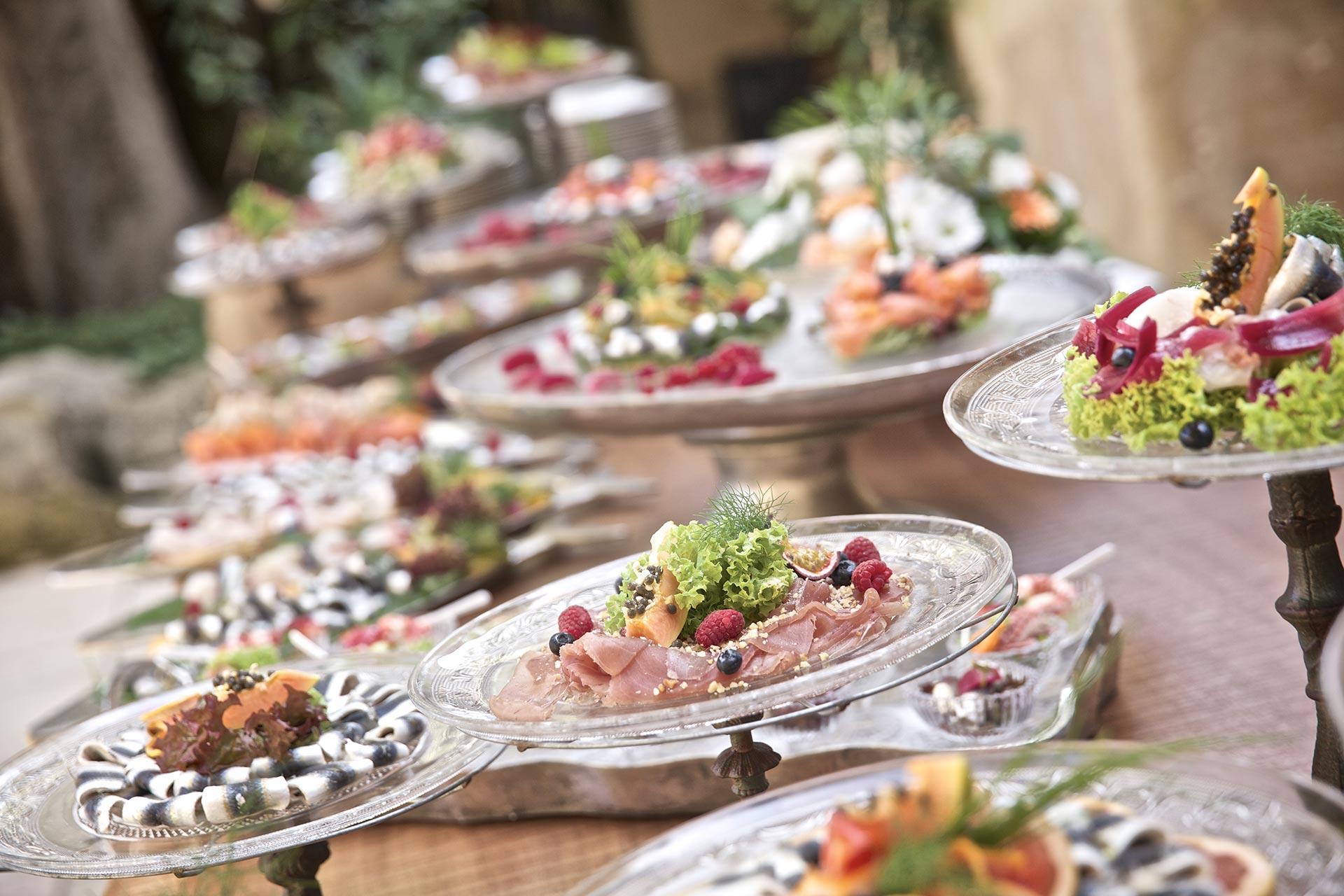 Cene di gala, party e ricorrenze speciali