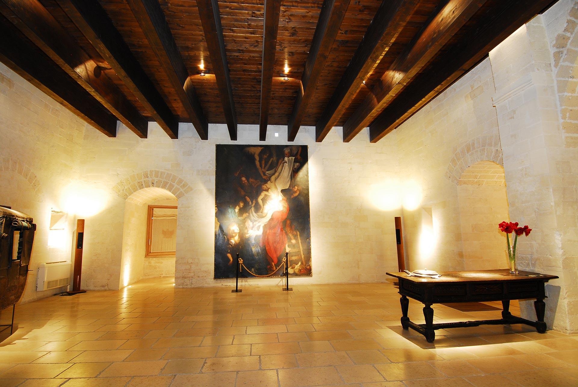Sala Maria D'Enghien Torre Del Parco